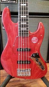 Bacchus Jazzbass Red