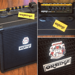 Orange – Crush Bass 25